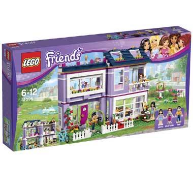 LEGO 41095 Friends Emmas Familienhaus für 47,99€ bei [Intertoys]