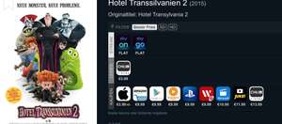 iTunes Hotel Transsilvanien 2 HD Kauffilm