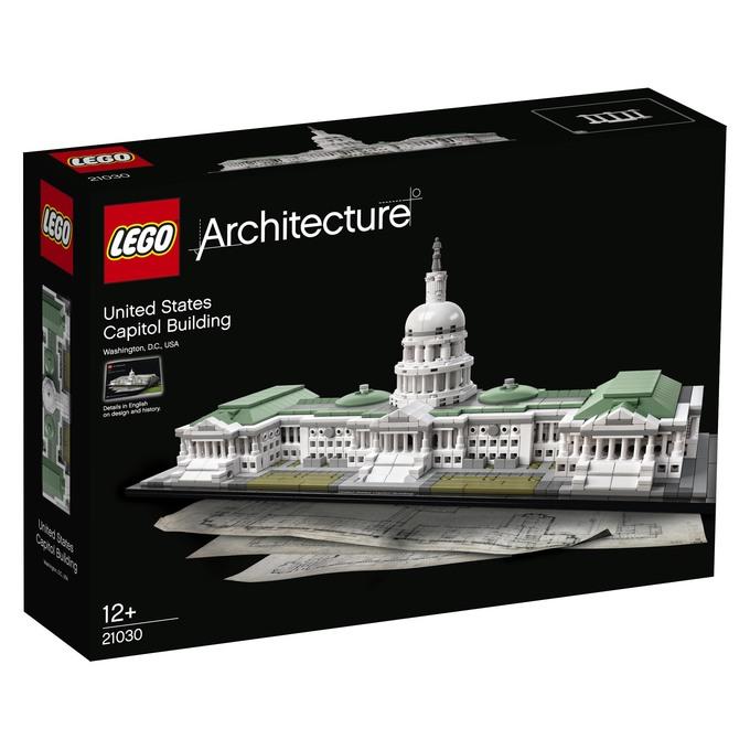 LEGO® Architecture 21030 - Das Kapitol bei Hugendubel mit Gutschein 68,03€ statt UVP 99,99€