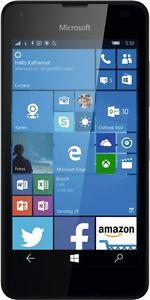 "eBay: Microsoft Lumia 550 schwarz LTE Windows 10 Smartphone 4,7"" Display ohne Simlock @69,90 Euro inkl. Versand (B-Ware)"