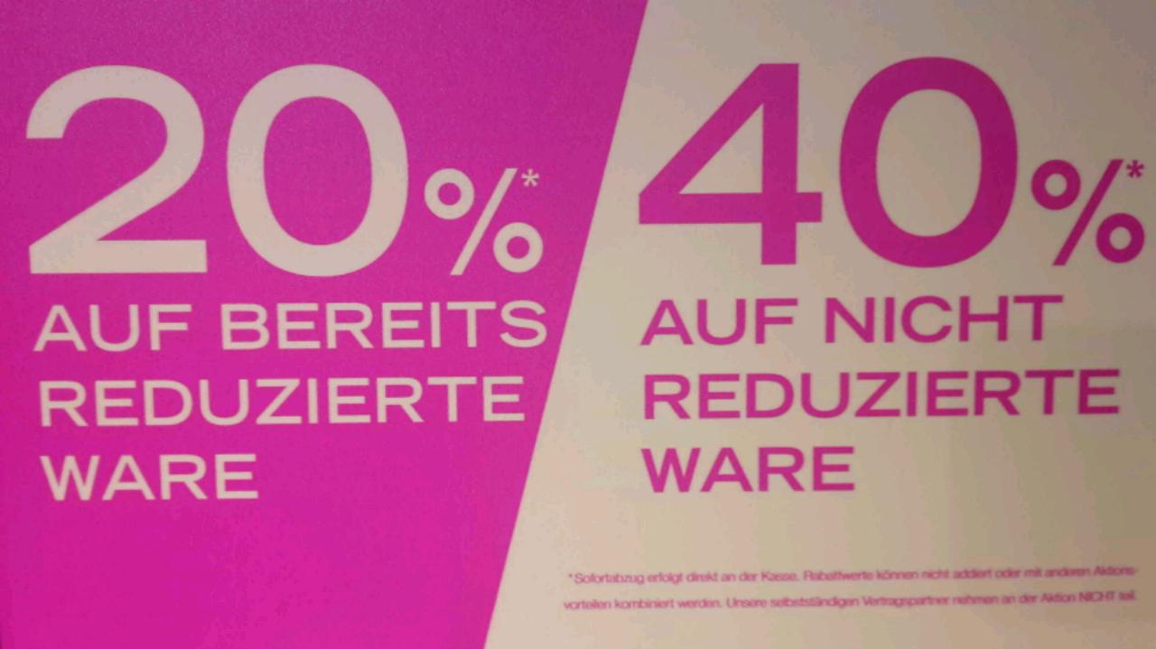 FFM-Hauptwache Sportarena - Ausverkauf - 20% auf reduzierte und 40% auf nicht Reduzierte Artikel.