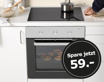 Backofen und Kochfeld gibts jetzt online zusammen günstiger bei IKEA.de
