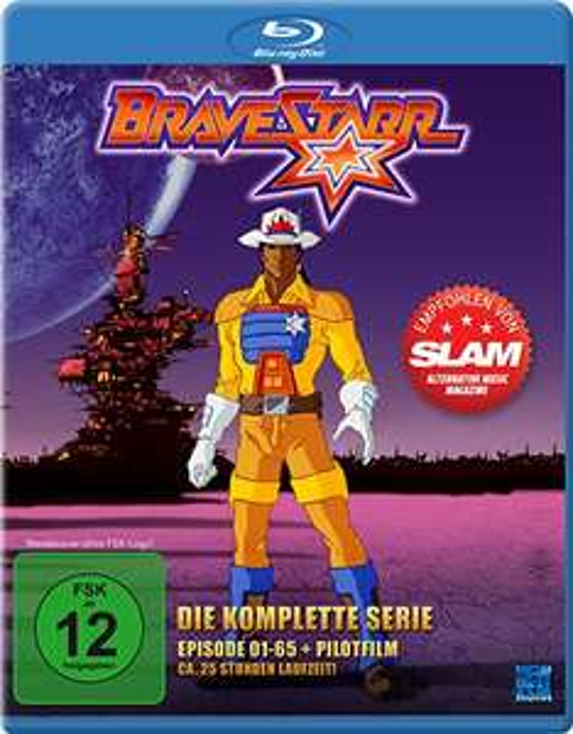 [amazon prime] Bravestarr - Die komplette Serie (Episoden 1-65 + Pilotfilm) [Blu-ray]
