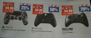 [Schweiz]  Diverse Game Controller / Microsoft Xbox One / PS4 / Wii U bei melectronics