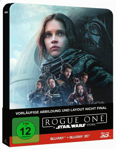 Rogue One - A Star Wars Story (2D+3D) Steelbook bei buecher.de