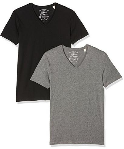 Esprit Herren T-Shirt 2er Pack für 7,99€ (Amazon Prime)