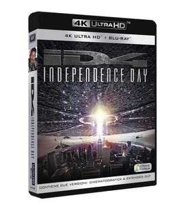Independence Day? (4K Blu-ray + Blu-ray + Bonus Blu-ray) für 13,64€ (Amazon.it)