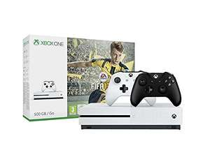 Xbox One S 500GB Konsole + FIFA 17 + 2. Xbox Wireless Controller (schwarz) für 229€ Inkl. VSK  (Amazon.de)