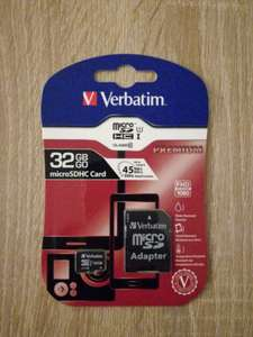 [REWE Center in Griesheim] Verbatim Flash?Speicherkarte ? 32 GB microSDHC ? Class 10