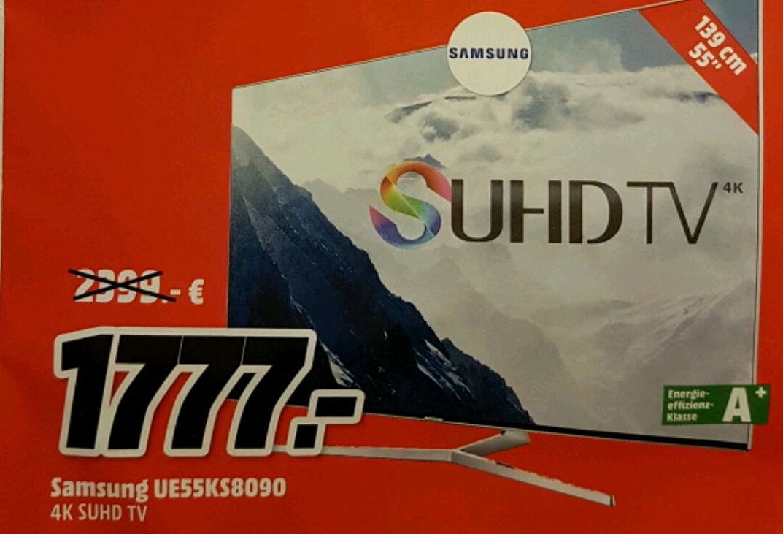 Samsung UE55KS8090 Mediamarkt Magdeburg Bördepark
