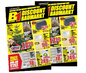 [offline] B1 Discount Baumarkt Schwerlast-Steckregal als Tages-Angebot am 21.12.2016
