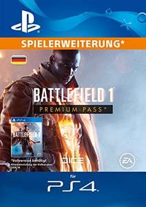 [Amazon.de] Battlefield 1: Premium Pass - Season Pass DLC PS4 und Xbox One