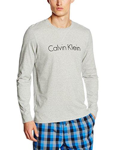 [Amazon.de] Calvin Klein Sweatshirt in Grau mit Aufschrift (XL:14,04 €  L:17,60 € Euro M:19,30 €)