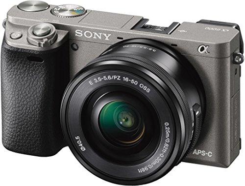 [Amazon] Sony Alpha 6000 inkl. SEL-P1650 Objektiv graphit-grau für 549,- €