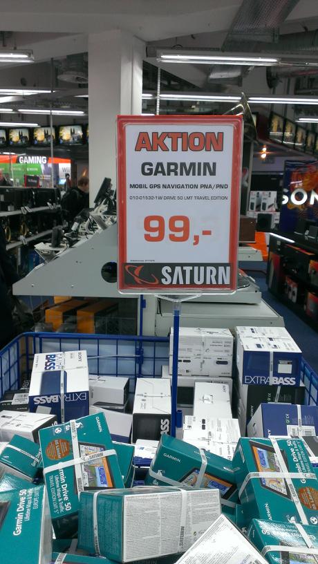 lokal Saturn Magdeburg Garmin Drive 50 für 99€