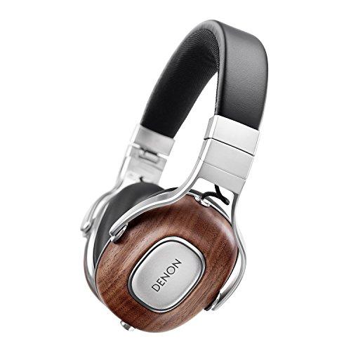 Denon AH-MM400 Over Ear-Kopfhörer (40 mm Free Edge-Treiber, Aluminium-Kopfbügel, Echtholz-Hörergehäuse) für 253,96€ (Amazon.fr)