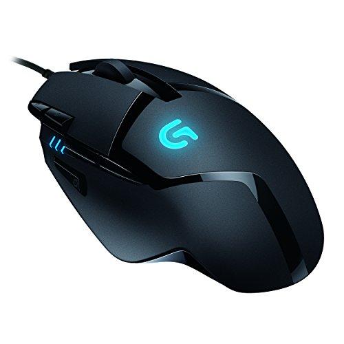 Logitech G402 Hyperion Fury FPS Gaming Mouse (mit 8 programmierbaren Tasten, USB) schwarz für 32,90€ @Amazon