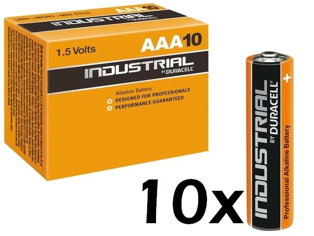 Duracell AAA Industrial Batterien 10er Pack für 3,55 €