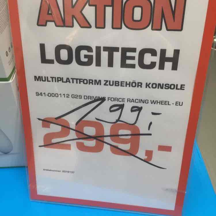 [Lokal Aachen] Logitech G29 PS4 Wheel+Pedale