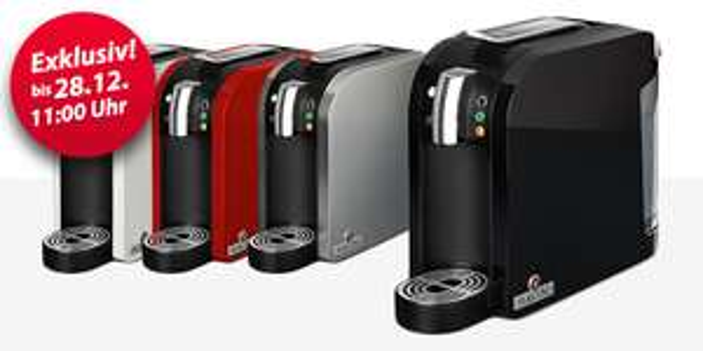 Kapselmaschine für Tee Teekanne Tealounge mit 20er Probepack