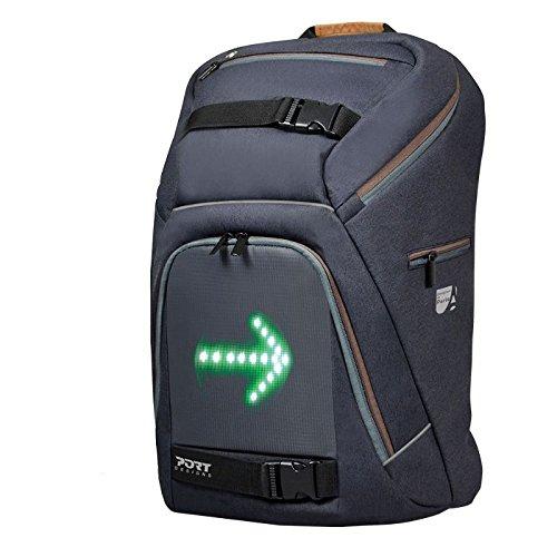 Port Design Fahrrad-Rucksack mit LED-Richtungsanzeige für 40€ statt 80€ bei Amazon