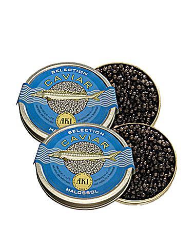 Aki Caviar Selection Malossol 1+1 Set. 50g Dose GRATIS inkl. Versand