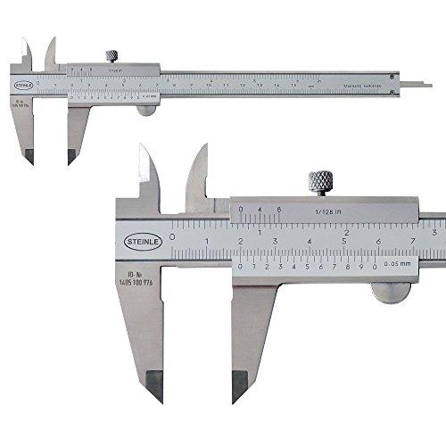 STEINLE Taschen Messschieber 150 mm, analog (VSK-frei bei Prime oder ab 29 EUR Warenkorb)