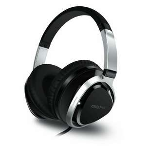 Creative Aurvana Live!2 Over Ear Kopfhörer (40-mm-Neodym-Treiber, verhedderungsfreies Audiokabel mit integriertem Mikrofon) für 53,96€ (Amazon)
