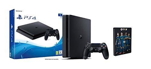 [Amazon] PS4 Slim 1 TB mit FIFA 17 Steelbook Edition für 299,97€