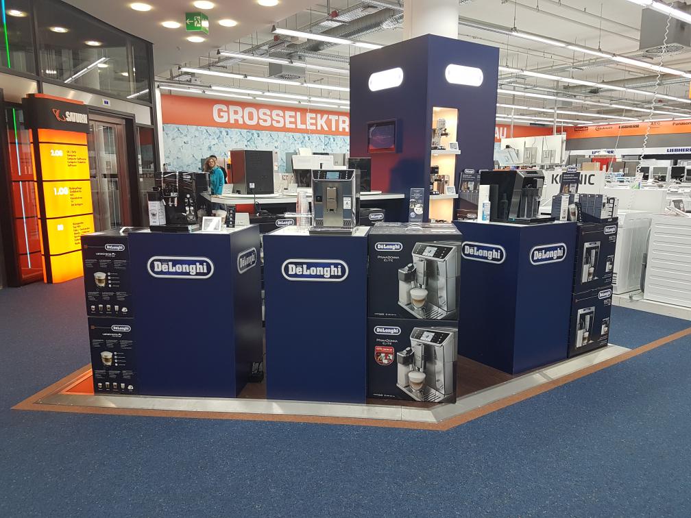 DeLonghi Kaffeevollautomaten stark reduziert in Saturn Wuppertal