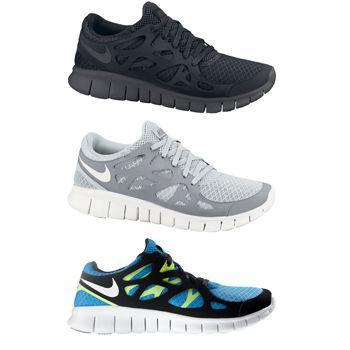 Nike Free Run+ 2 und 3.0 für nur 63,80 Euro aus England (zollfrei) durch 5 Pfund Gutschein.