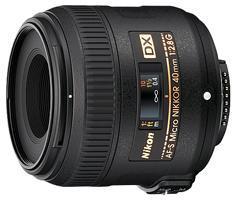 Nikon AF-S DX Micro-Nikkor 40mm 1:2,8G Macro-Objektiv