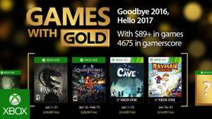 Games with Gold - Januar 2017 Spiele