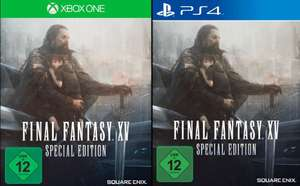 [Mediamarkt GDD] Final Fantasy XV (Limited Steelbook Edition) (PlayStation 4 und Xbox One) für je 45,-€ Versandkostenfrei?