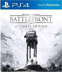 STAR WARS Battlefront Ultimate Edition ( inkl. Season Pass) für PS4  für ca. 14,95€ ( PSN Store Asia)