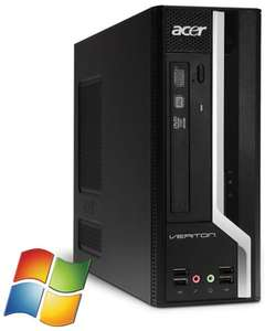 Acer Veriton X4610G PC i3 2120 DVD Win 7 Pro, 4 GB DDR3, 320 GB HDD [Softwarebilliger, gebraucht]