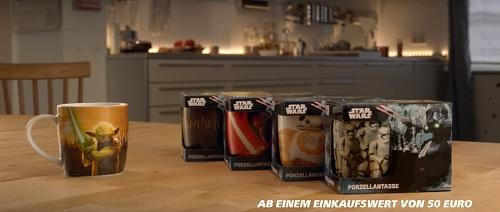 [Real offline] Star Wars Sammeltasse für 0,50€ bei 50€ Mindestumsatz im Markt