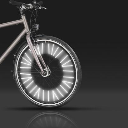 [ALDI NORD] 36 Speichenreflektoren fürs Fahrrad (Sticks) für 4,99 mit 3M Beschichtung