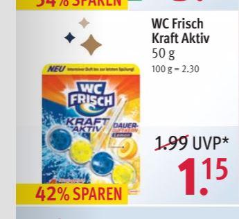 WC Frisch Kraft Aktiv Rossmann (Offline / Bundesweit)