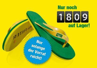 Flip Flops - gratis bei MANN-FILTER