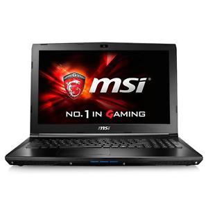 """MSI GL62-6QFAC16H21, Notebook i7-6700HQ 15,6"""" matt FHD 16GB 1TB+256GB SSD [eBay WOW redcoon]"""