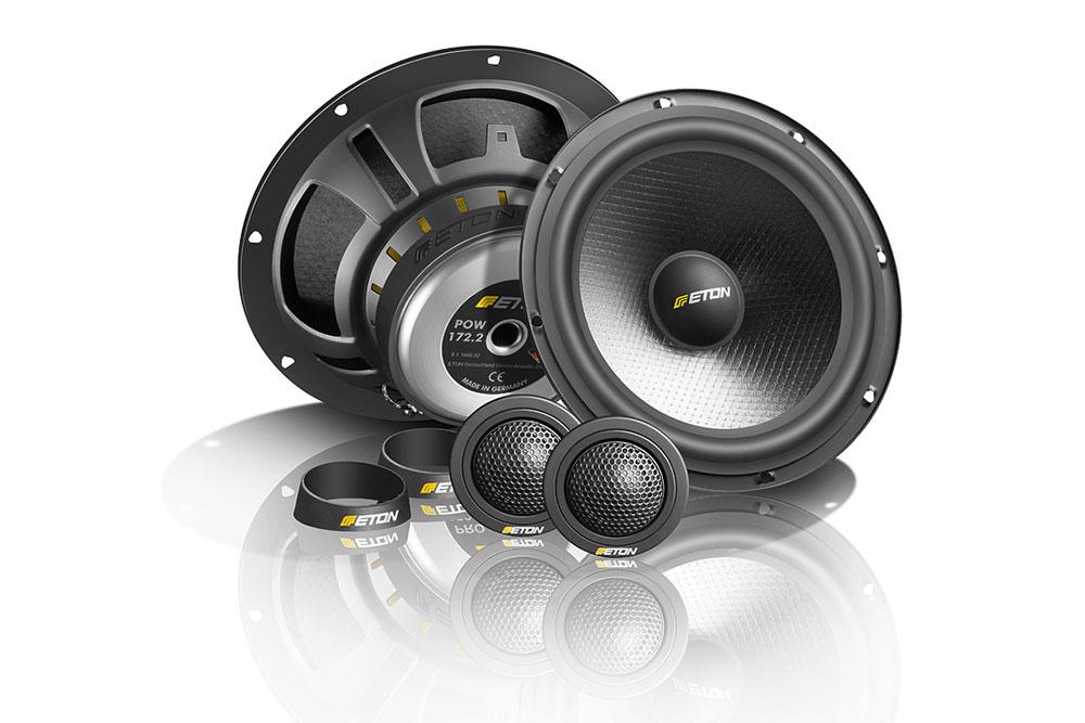 Eton POW172.2 Auto Lautsprecher, Komponenten-System zum Best- Preis