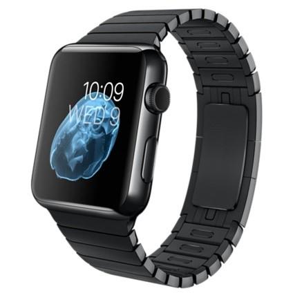 Apple Watch (1. Gen.) - 38mm - Edelstahlgehäuse Gliederarmband in Space Black NEU für 399€