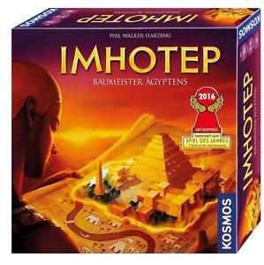 (eBay.de) Strategiespiel: Imhotep, Baumeister Ägyptens (nominiert zum Spiel des Jahres 2016) für  23,99€ Inkl. VSK