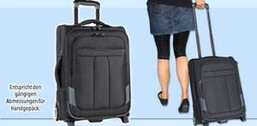 Trolley für Handgepäck (z.B. Ryanair) bei Aldi Süd - 19,99€