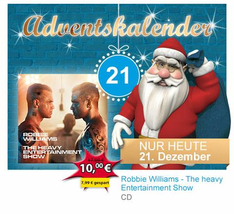 "[offline] Robbie Williams CD ""Heavy Entertainment Show"" @Müller"