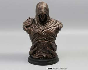 Legacy Collection: Altaïr Ibn-La'Ahad Bronze-Büste, Material: PVC (CRAZY Wednesday Flash Deal) @Ubisoft Store