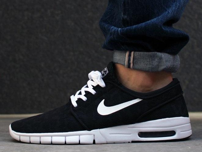 [SARENZA] Nike SB Stefan Janoski Max - black/white - 62,60 € inkl. Versand! (Größe 39-46/ PVG: 109,99 €)