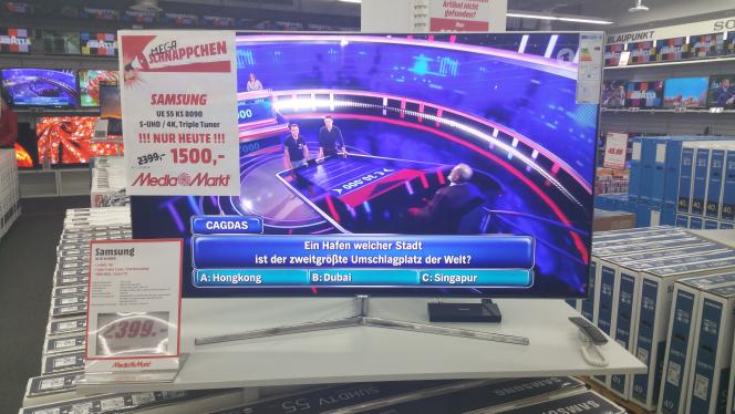 Samsung UE55KS8090 für 1500,- Media Markt Gütersloh [lokal]