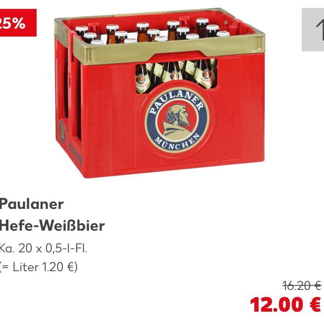 Paulaner Weißbier Weizenbier [Kaufland PA ED IN]